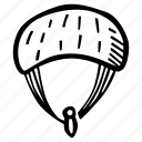 fitness, gym, parachute, sports, training icon