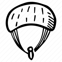 fitness, gym, parachute, sports, training icon