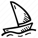 boat, fitness, gym, saling, sports, training icon