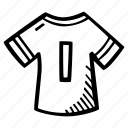fitness, gym, shirt, sports, team, training icon