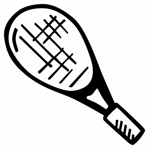 fitness, gym, racket, sports, tennis, training icon