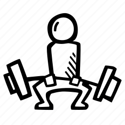 fitness, gym, lifting, sports, training, weight icon