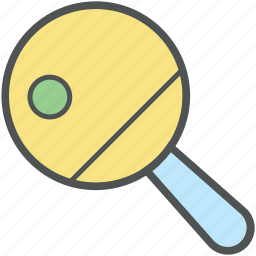 ping pong, table tennis, table tennis bat, tennis bat, tennis equipment, tennis paddle icon