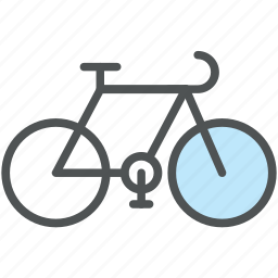 bicycle, bike, cycle, pedal cycle, sports, travel icon