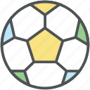 ball, field ball, football, goal ball, soccer balls, sport, sports equipment icon