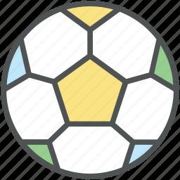 ball, field ball, football, goal ball, soccer balls, sport, sports equipment icon