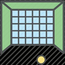 football goal post, football net, goal, handball net, hockey net, net, soccer net icon