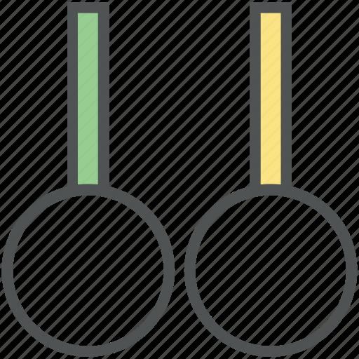 exercise rings, flying rings, gymnastic, gymnastic rings, rings crossfit, steady rings, still rings icon