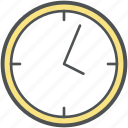 alarm, clock, schedule, time, timepiece, timer, wall clock, watch icon