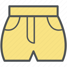 bermudas knicker, knickers, shorts, swim trunks, swimwear icon