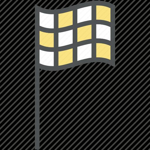 destination flag, ensign, flag, location flag, sports flag icon