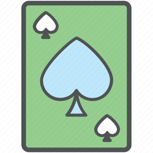 gambling, playing card, poker card, spade card, spades icon