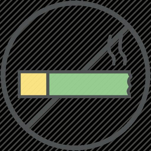 forbidden smoking, no cigarette, no smoking, no tobacco, restricted smoking, smoke free icon