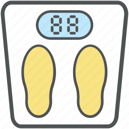 bathroom scale, obesity scale, weighing machine, weighing scale, weight machine icon