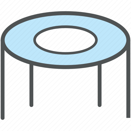 gymnastics, jumping mat, jumping pad, sports, trampoline, trampoline jumping icon