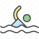 exercising, gymnasium, gymnast, swim, swimmer, swimming, swimming pool icon