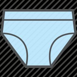 briefs, pantie, shorts, swim shorts, undergarment, underwear icon