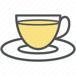 cup, cup of tea, cup with saucer, hot tea, tea icon