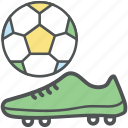 ball, football, footwear, gym shoes, running shoes, sneaker, sport icon