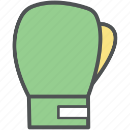 boxing, boxing gloves, cushioned gloves, mitten, punch gloves, sports gloves icon