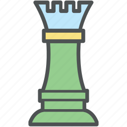 chess, chess guard, chess rook, chess tower, sports icon