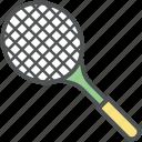 badminton racket, racket, sports, squash racket, tennis racket