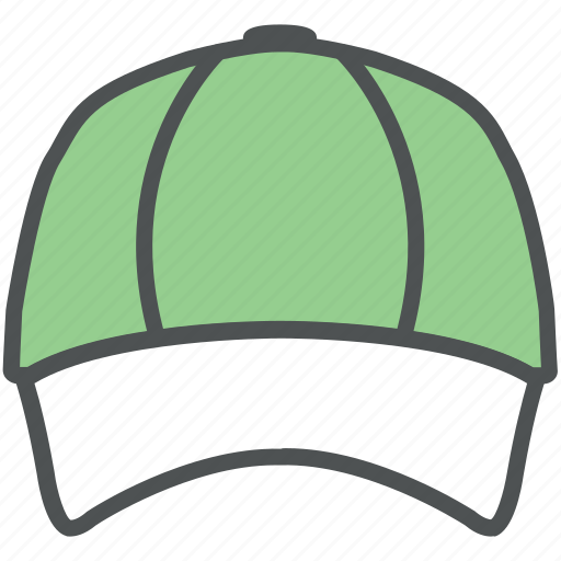 Baseball cap, cap, cricket cap, fashion cap, sports hat, trucker cap sports cap icon - Download on Iconfinder