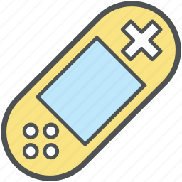 game controller, game remote, gameboy, gamepad, gamer, psp, psp console, technological icon