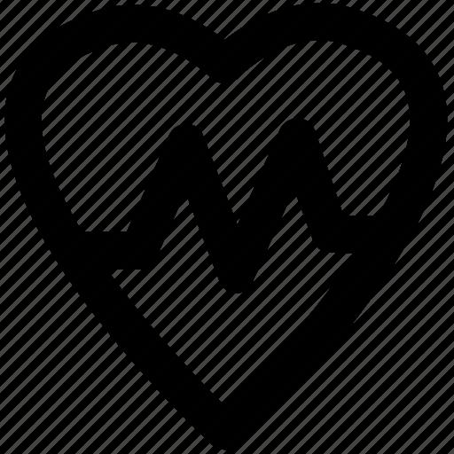 heart, heart lifeline, heart pulse, heart rate, heartbeat, human heart, lifeline icon