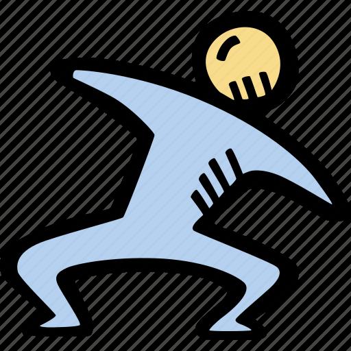 exercise, fitness, gym, sports, training icon