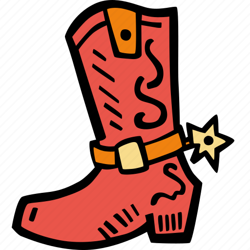 boots, fitness, gym, rodeo, sports, training icon