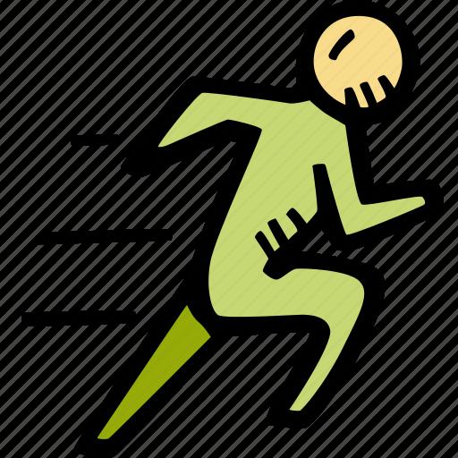 fitness, gym, running, sports, training icon