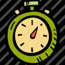 stopwatch, gym, fitness, training, sports