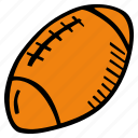 american, ball, fitness, football, gym, sports, training icon
