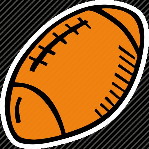 american, ball, fitness, football, gym, sports, training icon