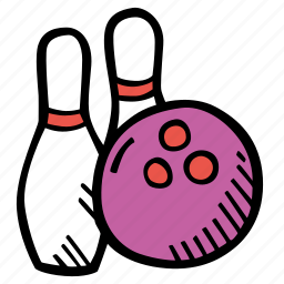 bowling, fitness, gym, sports, training icon