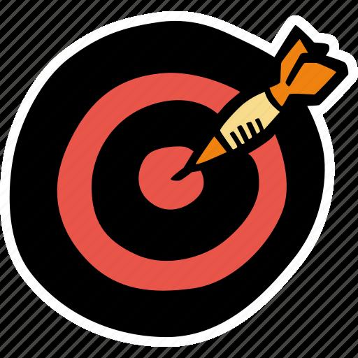 darts, fitness, gym, sports, training icon