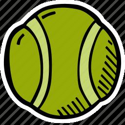 ball, fitness, gym, sports, tennis, training icon