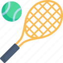 ball, competition, court, game, racket, sport, tennis