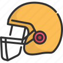 american, competition, football, helmet, league, sport, uniform icon