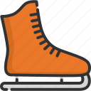 activity, ice, skate, skating, snow blade, sport, winter icon