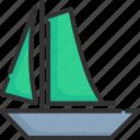 boat, nautical, sail, sailboat, ship, vessel, yacht