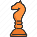 challenge, chess, competition, game, horse, strategy, success icon