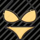 beach, bikini, fashion, summer, swimsuit, swimwear, vacation