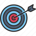 archer, archery, arrow, competition, sport, target, weapon icon