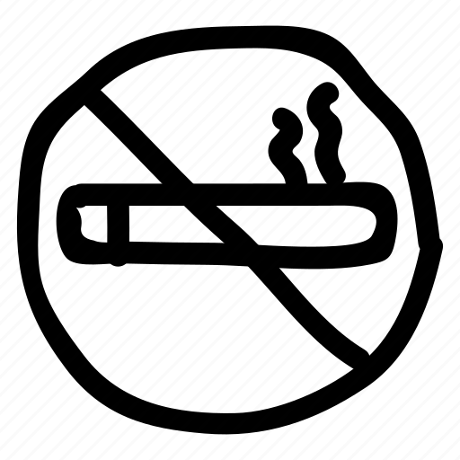 cigarette, nosmoking, restriction, sign, smoke, tobacco, warning icon