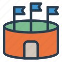 amusement, festival, fun, monument, park, play, recreation icon