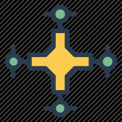 arrow, camera, gps, locate, record, round, technology icon
