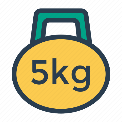 balance, fitness, gym, kg, measure, scales, weight icon