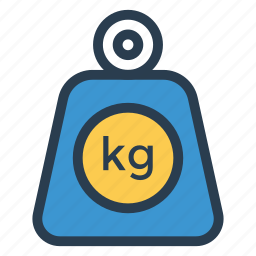 balance, dumbbell, fitness, gym, kilogram, sport, weight icon